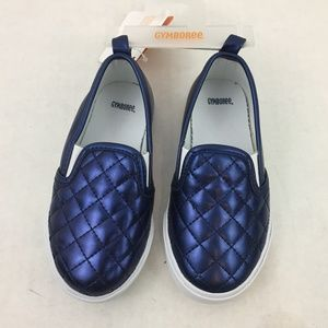 Gymboree Baby Toddler Kids Blue Slip On Shoes 9